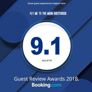 FMTTM Booking.com badge