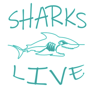 Shark live logo (clear)